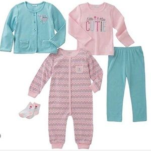 Infant Gift Set-NWT-5 Items- 3 months